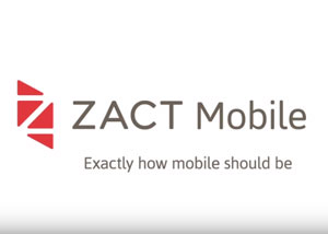 Zact Mobile Screenshot - Advertising & Corporate Branding Music - David Earl Productions