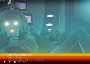 Double Fine - Headlander - Methuselah Music Video Screenshot - David Earl Productions