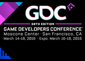 GDC 2016 Logo - Speaking Engagements - David Earl Productions