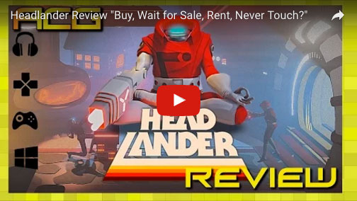 Headlander - Music Review Screenshot - David Earl Production